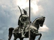 Giorgio Castriota Scanderbeg statua