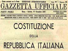importanza della Costituzione Italiana