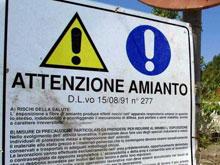 Amianto nel Lazio