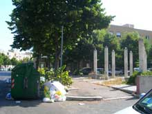 Roma emergenza rifiuti