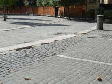 Roma degrado a Trastevere