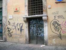 Degrado Centro storico di Roma