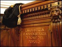 magistrati e giustizia