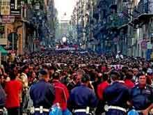 Italia e proteste in piazza