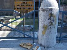Roma e degrado monumenti