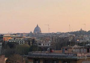tramonto Roma quarantena
