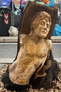 Scultura albero Roma