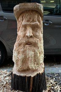 Scultura albero roma 2
